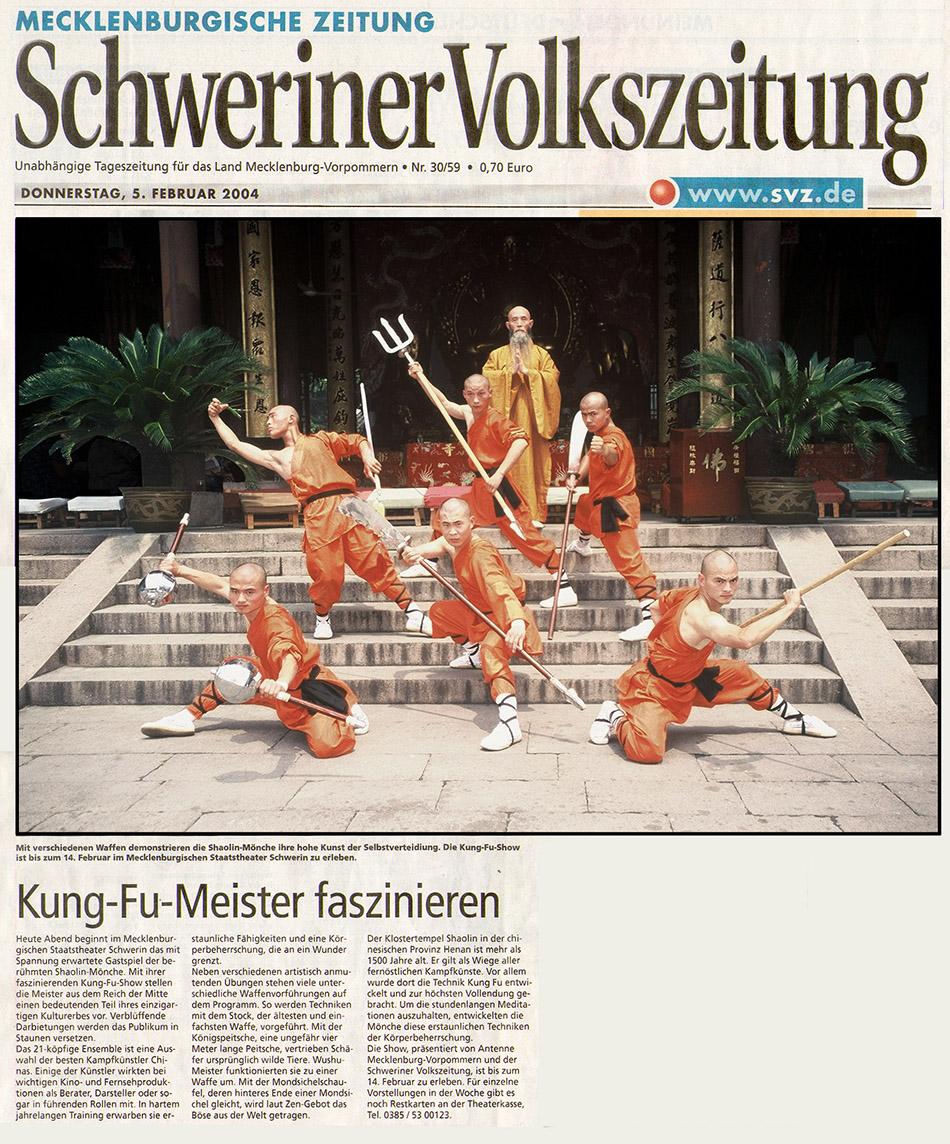 Schweriner Volkszeitung Heute